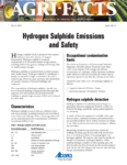 Hydrogen Sulfide Emissions and Safety
