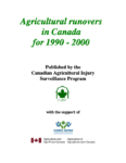 Agricultural Runovers in Canada for 1990-2000