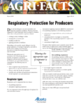 Respiratory Protection for Producers