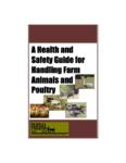 Un guide de santé et sécurité pour la manipulation des animaux d'élevage et de la volaille