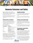 Ammonia Emissions and Safety