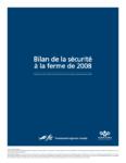2008 Bilan de la sécurité agricole
