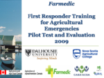 First Responder Training for Agricultural Emergencies