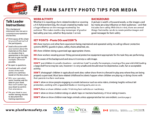 Farm Safety Photo Tips for Media