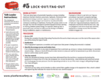 Lock-out/Tag-out