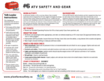 ATV Safety and Gear