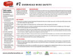 Overhead Wire Safety