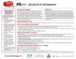 VTT - Sécurité et vêtements
