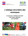 L'attelage sécuritaire des remorques : un guide pour l'attelage sécuritaire des tracteurs agricoles aux remorques