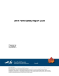 2011 Farm Safety Report Card
