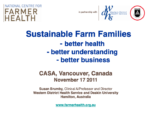 Sustainable Farm Families