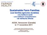 Les familles agricoles durables