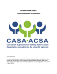 Canadian Model Policy Youth Employment in Agriculture