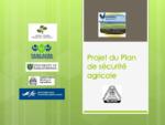 Projet du Plan de sécurité agricole