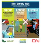 Rail Safety Tips