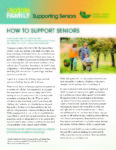 How to Support Seniors