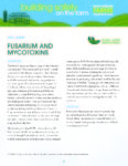 Fusarium and Mycotoxins