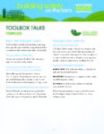 Toolbox Talks - Template