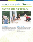 Playing Safe on the Farm - Toolbox Talks for Kids