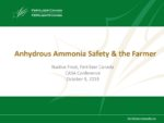 Anhydrous Ammonia Safety & the Farmer