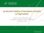 La sécurité de l'ammoniac anhydre et l'agriculteur