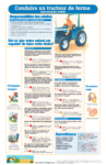 North American Guidelines for Children's Agricultural Tasks - Conduire un tracteur de ferme sans remorque attelée
